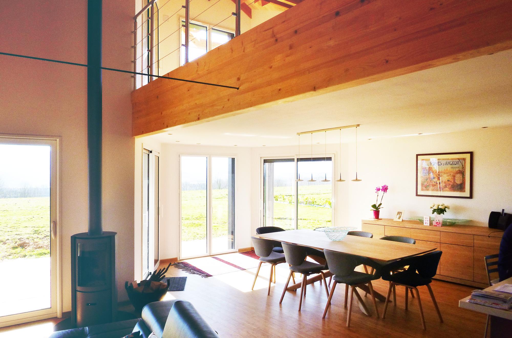 Accueil nature bois conception maisons bois gers for Conception maison bois