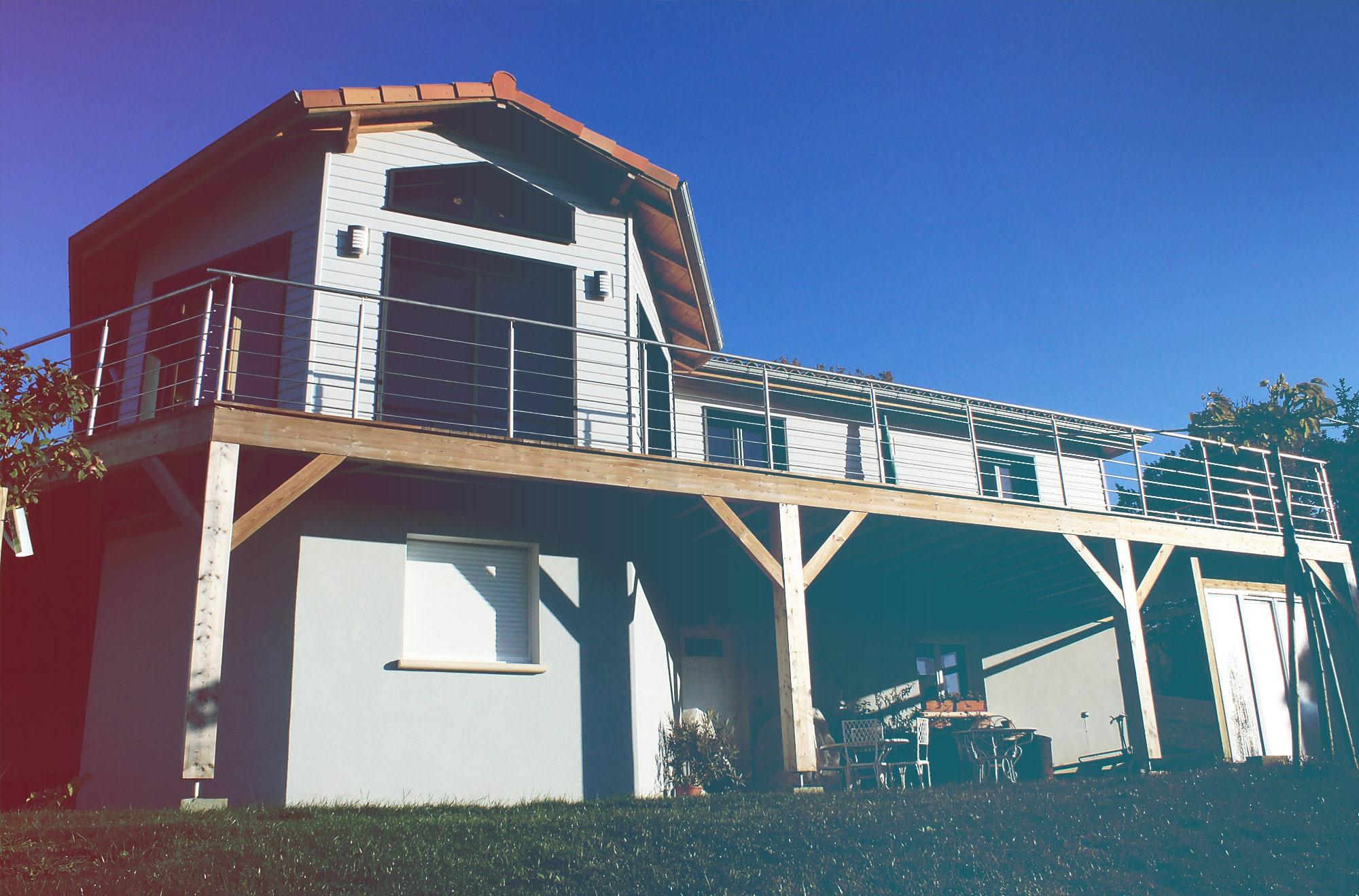 Accueil nature bois conception maisons bois gers hautes